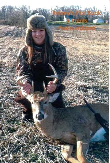 Kelsey's 9 Pointer - First Buck