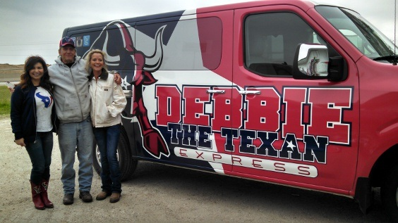 Debbie the Texan and s