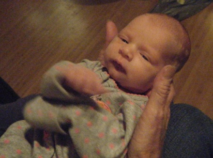 Rhia 2 Weeks Old