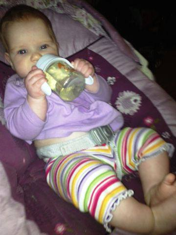 First Sippy Cup  Feb 18, 2013
